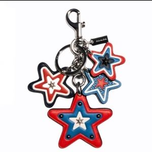 American cluster Star Bag Charm